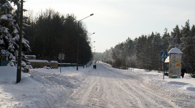 blachownia, zima
