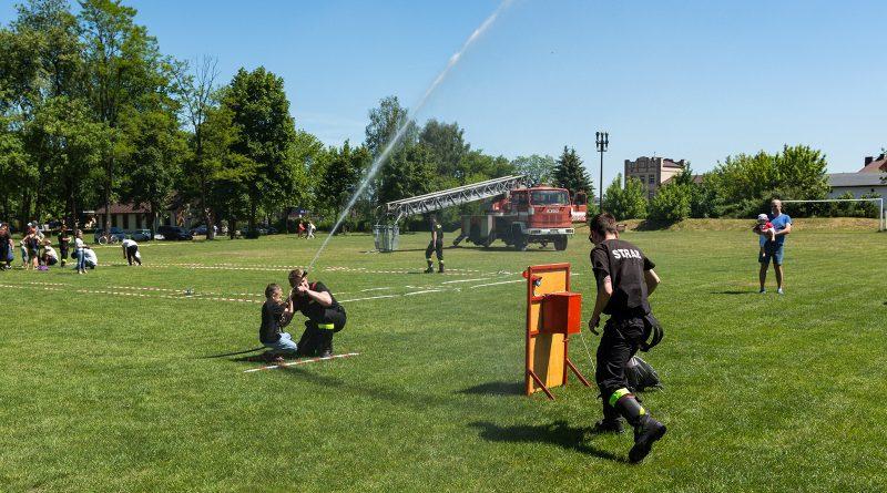 blachownia, strażacy z blachowni