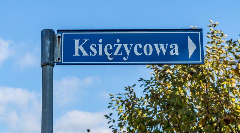 blachownia, zmiany nazw ulic