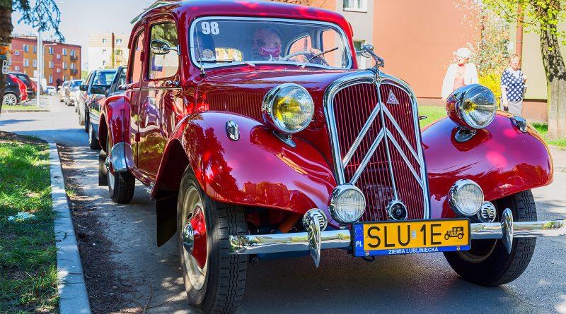 Rajd samochodów zabytkowych w Blachowni