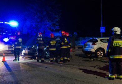 Wypadek naskrzyżowaniu ul.Cmentarnej i1 Maja
